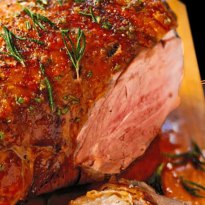 Greek Roast Leg of Lamb Recipe | My Easy Cooking Lamb with Wine #224