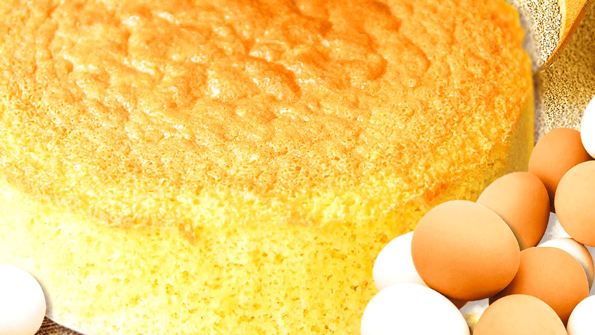 Vanilla Sponge Cake - Victoria Sponge Cake Recipe with 8 Eggs
