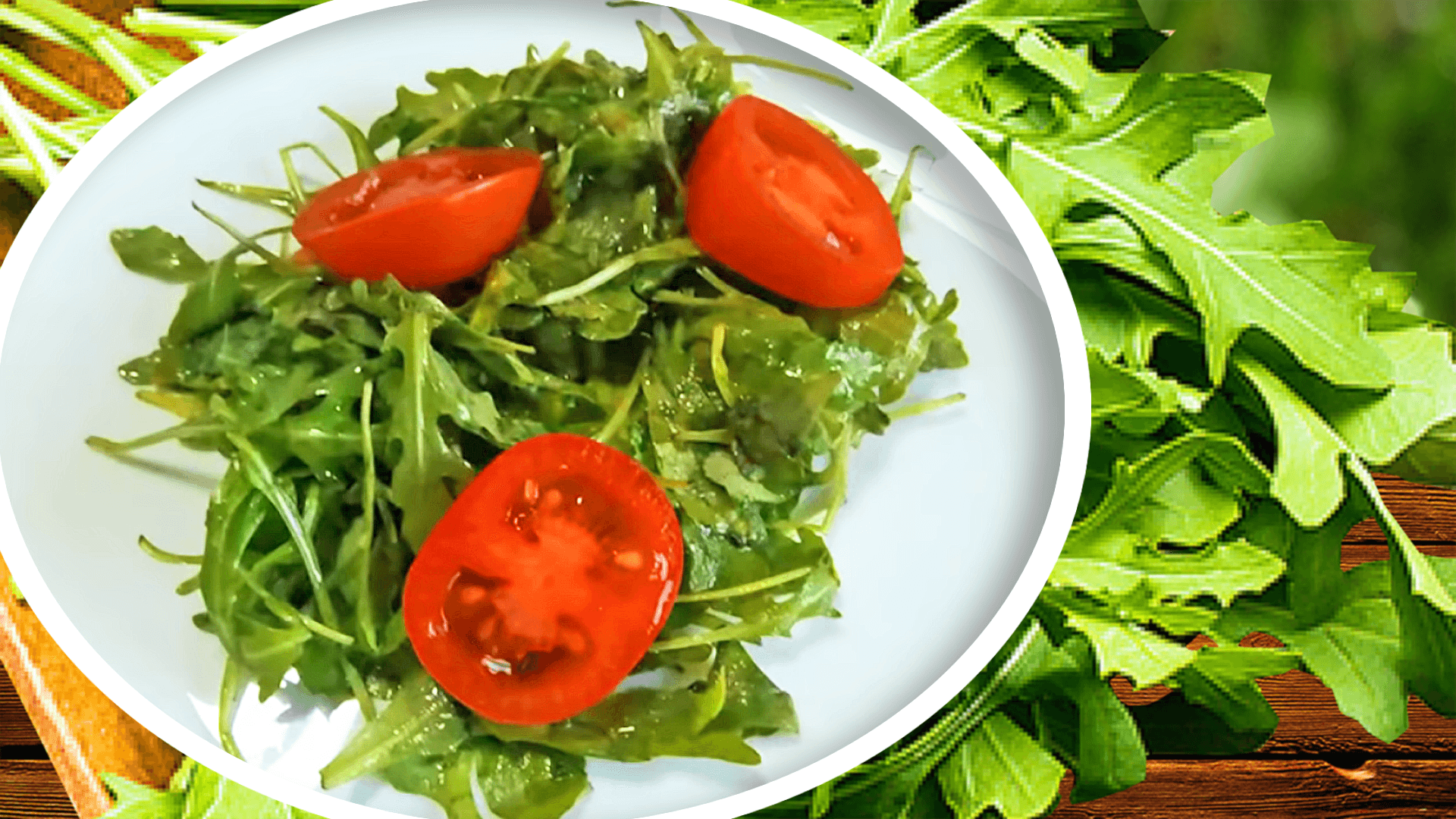Easy Arugula Salad Recipe