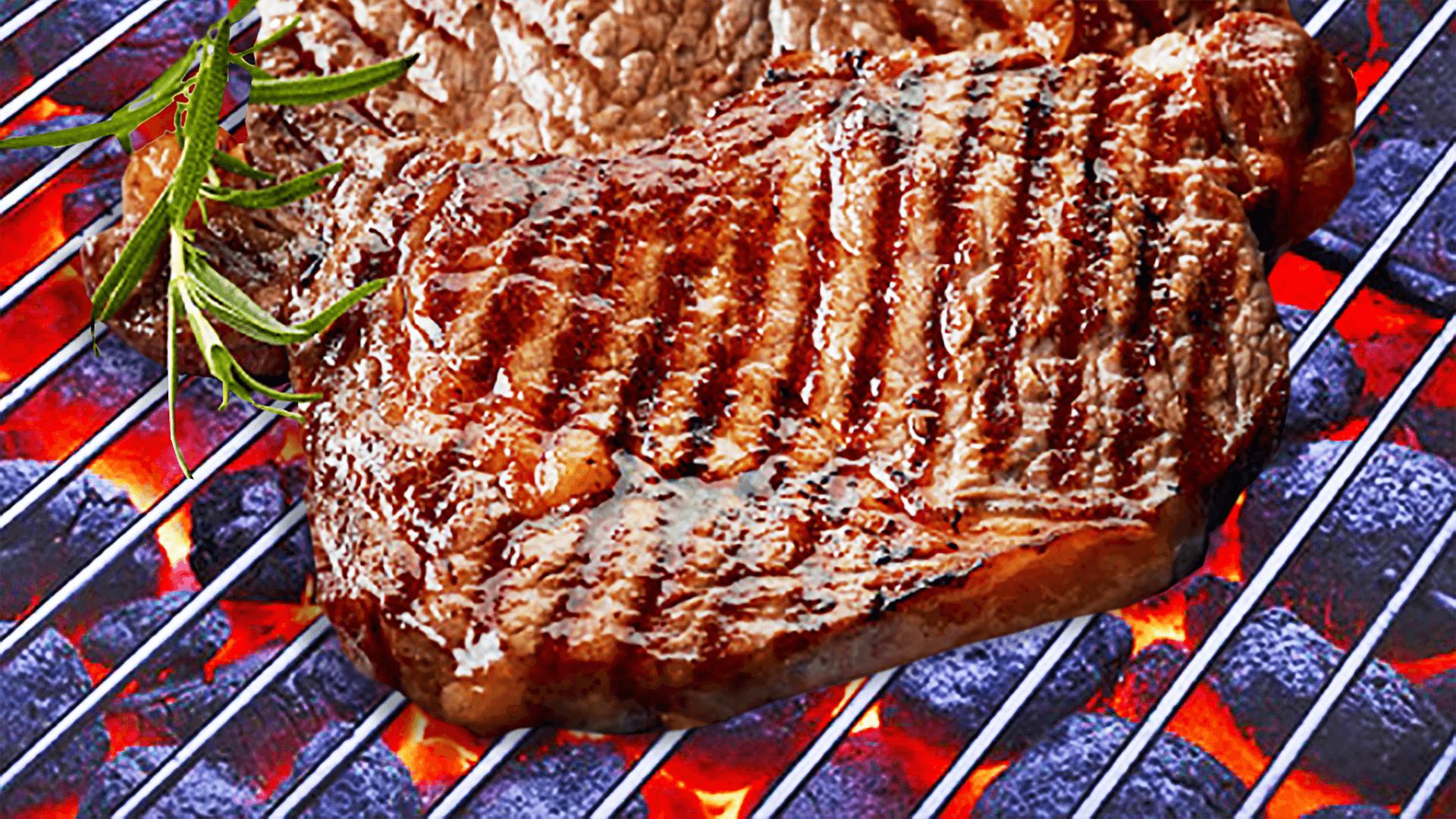 BBQ Grilled Pork Neck Steak (Good Pork Marinade Recipe)