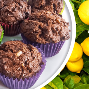 Muffins Recipe | Basic Lemon and Chocolate Muffins from Scratch #362