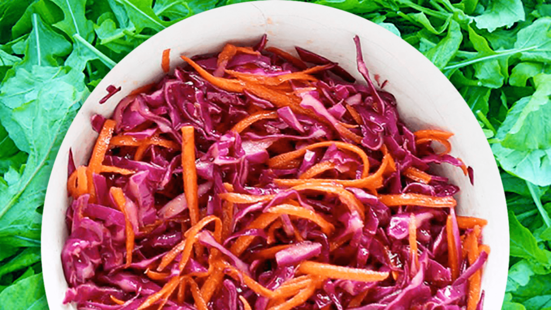 Easy Raw Red Cabbage Salad Carrot Red Cabbage Salad Recipe In 7 Steps