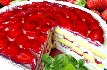 "Fresh Strawberry Cake Recipe (Easy Strawberry Cake with Vanilla Custard)<span class=""rmp-archive-results-widget ""><i class="" rmp-icon rmp-icon--ratings rmp-icon--star rmp-icon--full-highlight""></i><i class="" rmp-icon rmp-icon--ratings rmp-icon--star rmp-icon--full-highlight""></i><i class="" rmp-icon rmp-icon--ratings rmp-icon--star rmp-icon--full-highlight""></i><i class="" rmp-icon rmp-icon--ratings rmp-icon--star rmp-icon--full-highlight""></i><i class="" rmp-icon rmp-icon--ratings rmp-icon--star rmp-icon--full-highlight""></i> <span>5 (1)</span></span>"
