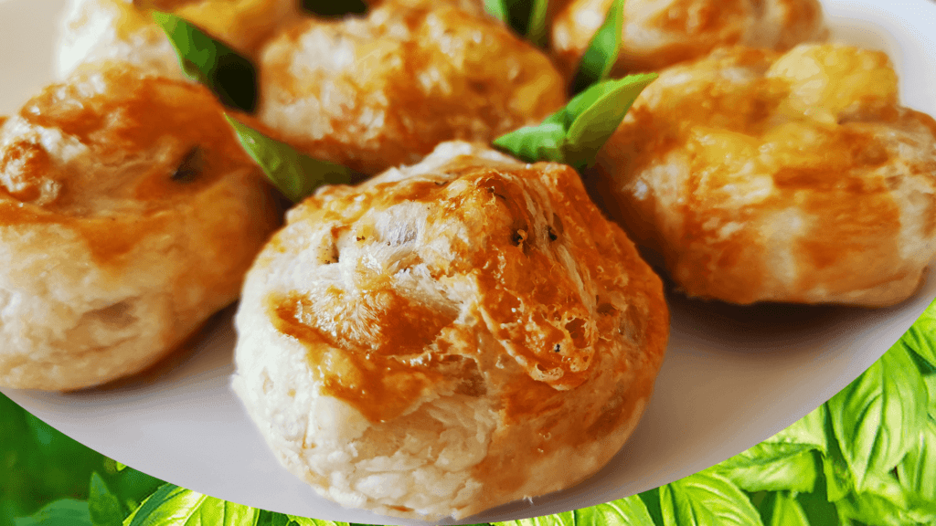Baked Brie Cheese Roll-Ups Recipe