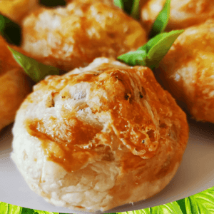 Simple Cheese Roll-ups (Baked Brie Puff Pastry Roll-up Appetizers #1)