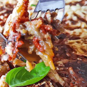 Easy Eggplant Casserole (How to Make an Eggplant Casserole Recipe in 18 Steps)