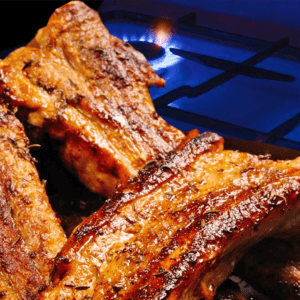 Basic Fried Spare Ribs with Garlic | Easy Cooking Pork Ribs Video #364