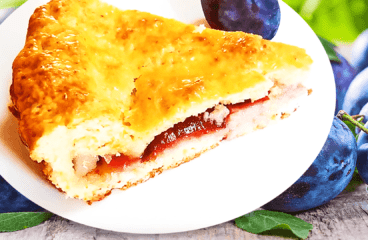 How to Make Double Crust Plum Pie (Plum Cake Recipe in 16 Steps)<span class=