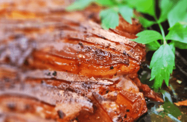 Basic Roasted Pork Belly Recipe (Cooking Pork Belly with Crackling in 8 Steps)<span class=