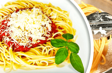 Simple Spaghetti with Tomato Sauce (Homemade Pasta Sauce Recipe in 9 Steps)<span class=