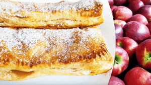 Easy Apple Turnovers with Puff Pastry - Apple Strudel