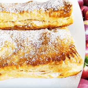 Easy Apple Turnovers with Puff Pastry (Apple Strudel Recipe in 13 Steps)