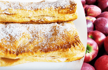 Easy Apple Turnovers with Puff Pastry (Apple Strudel Recipe in 13 Steps)<span class=