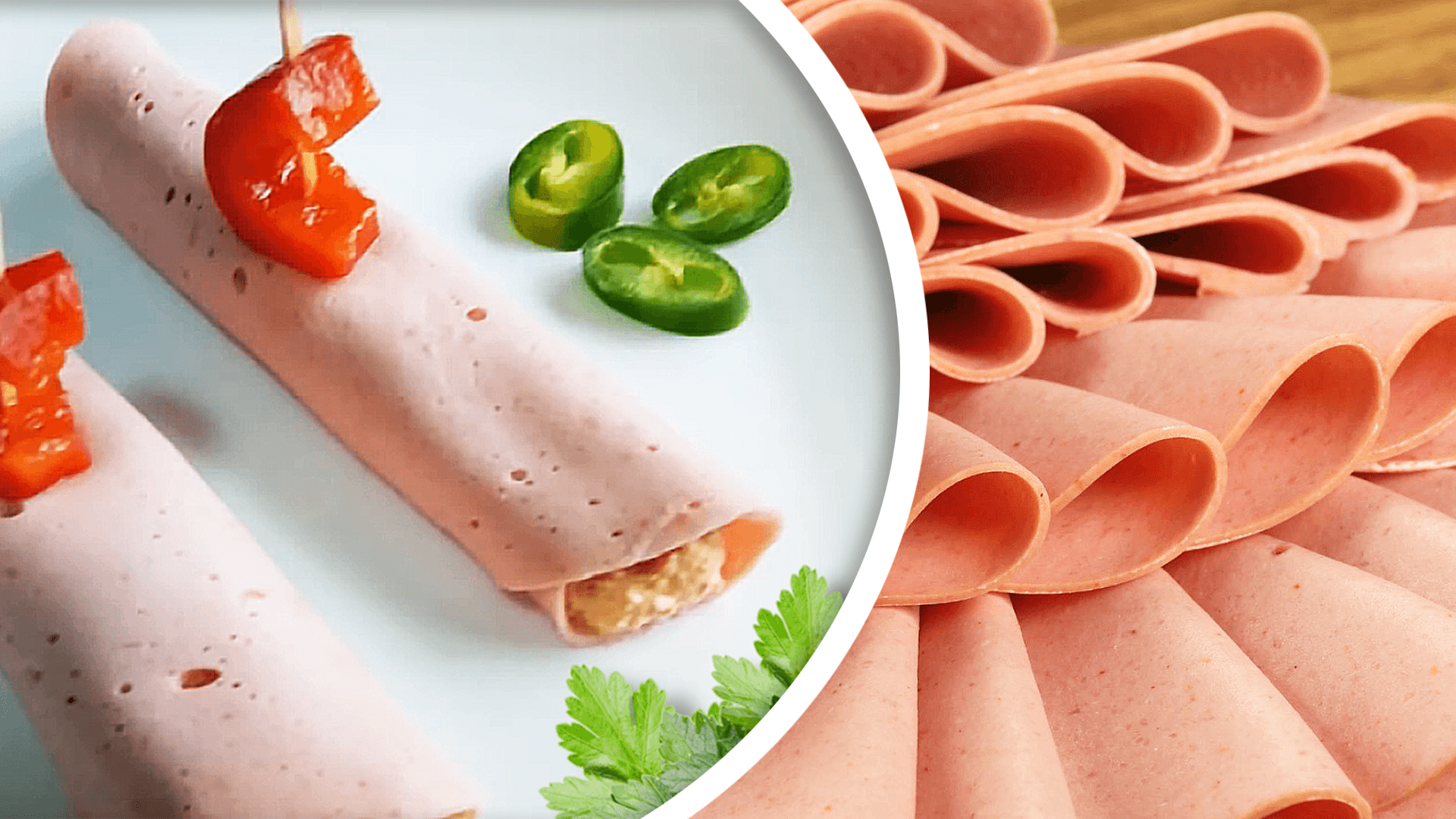 Bologna and Cream Cheese Roll-ups (Cream Cheese Appetizer)