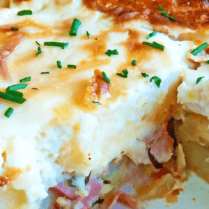 Easy Potato Gratin Savoyard (Potato Bake Recipe with Bacon in 20 Steps)