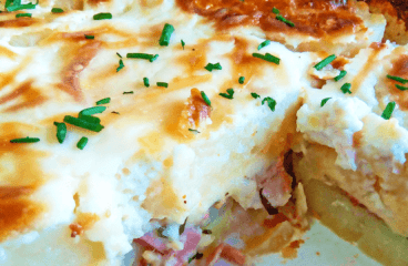 Delightful Potato Gratin Savoyard Recipe | Easy Scalloped Potatoes Video #147<span class=