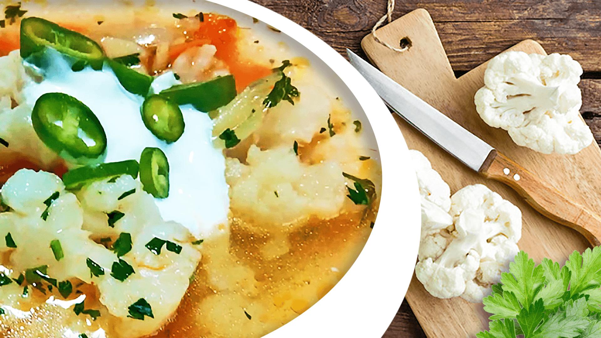 Cooking Cauliflower Soup (Cauliflower Soup Recipe)