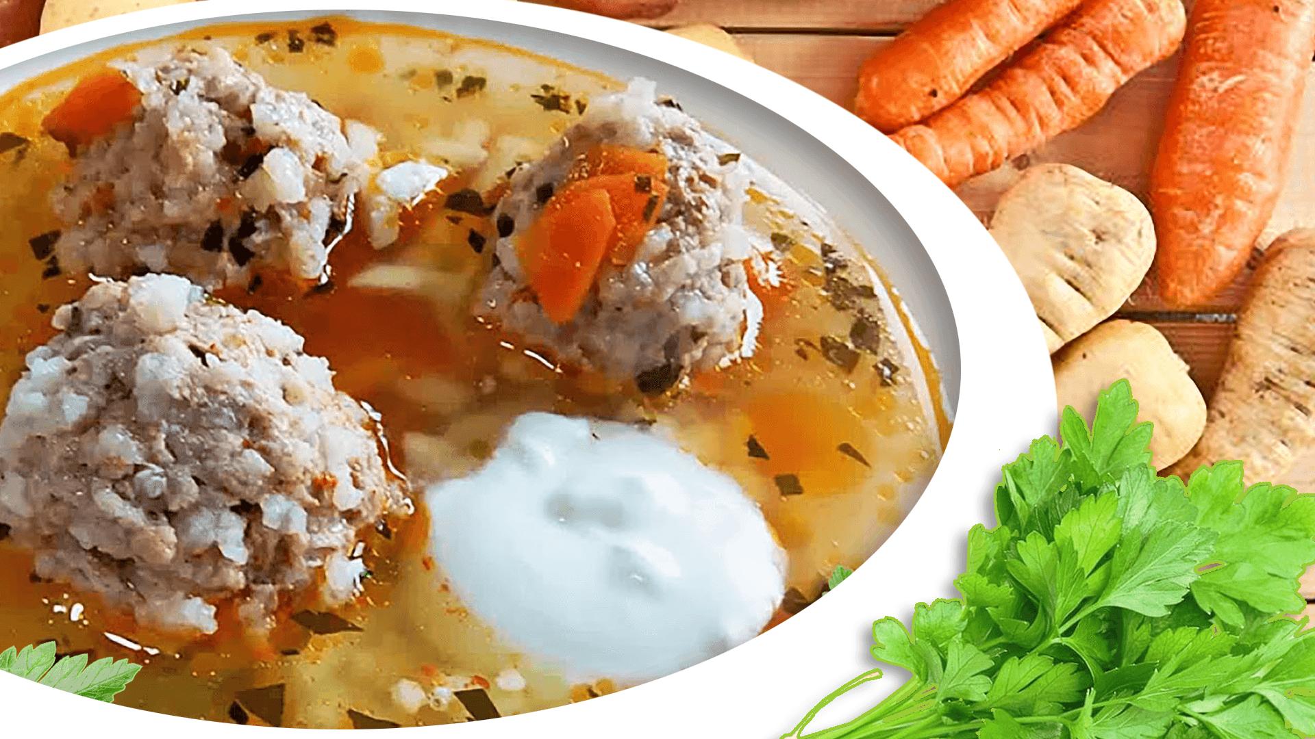 Rare Meatball Soup (German Wedding Soup Recipe)