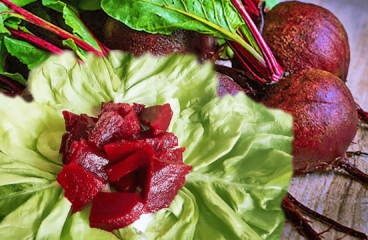 Delightful Roasted Beet Salad Recipe | My Easy Cold Beetroot Salad Video #026<span class=
