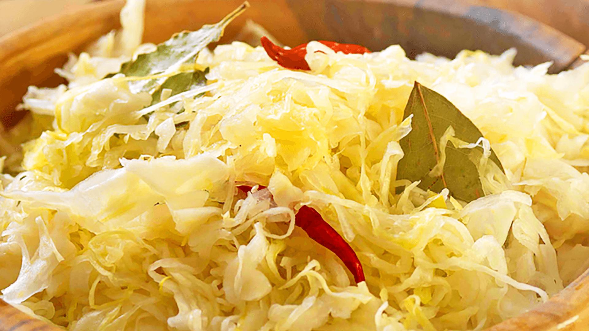 Chopped Sauerkraut