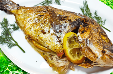 Extra Delicious Oven-Baked Fish in 12 Steps (Seabream)<span class=