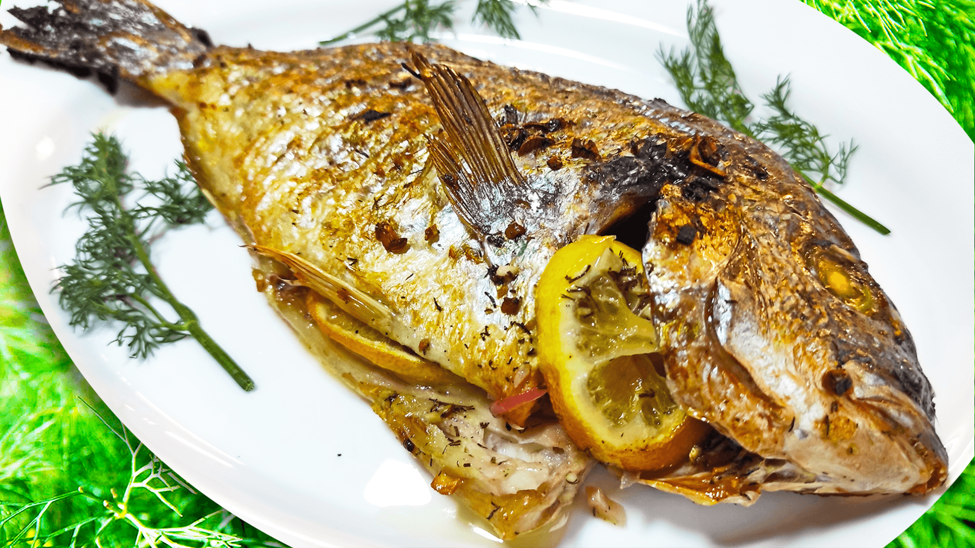 Extra Delicious Oven-Baked Fish