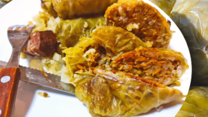Authentic Baked Stuffed Cabbage Rolls (Hungarian Stuffed Cabbage Roll Recipe)