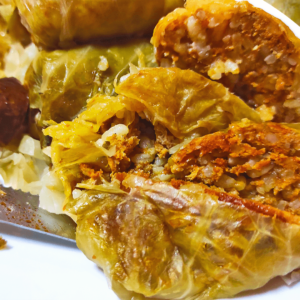 Authentic Baked Stuffed Cabbage Rolls (Hungarian Stuffed Cabbage Roll Recipe in 24 Steps)