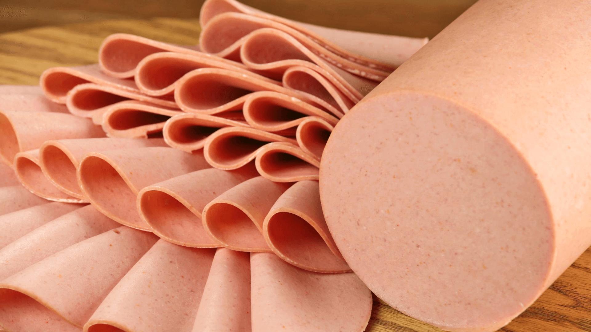 Sliced Bologna Salami