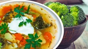 Easy Broccoli Soup (Homemade Vegetable Soup Recipe)