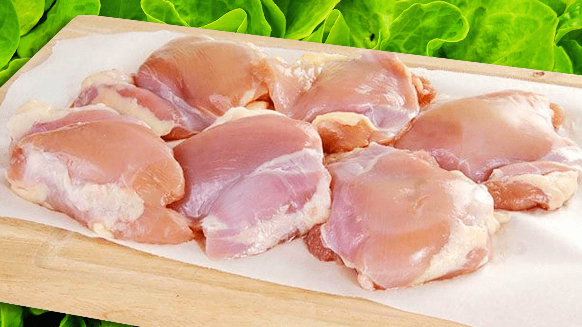 Skinless Boneless Chicken Thighs