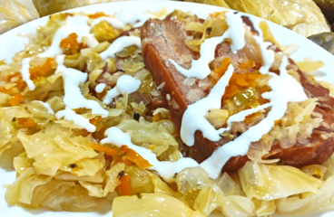 Easy Cooking a Bacon and Sauerkraut Casserole Recipe in 13 Steps<span class=