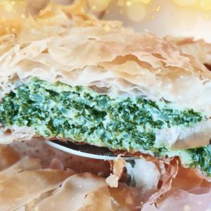 Greek Spinach Pie Recipe Spanakopita | Easy Cooking Spinach Video #350