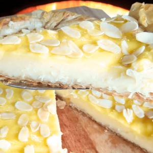 Homemade Vanilla Tart Recipe | My Easy Vanilla Cake Video #094