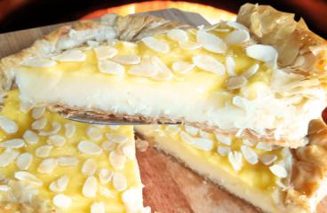 Homemade Vanilla Tart Recipe | My Easy Vanilla Cake Video #094<span class=