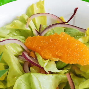 Mixed Veg Salad with Lettuce and Orange | My Easy Veggie Salad Video Recipe #176