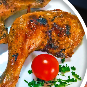 Easy Cooking Oven-Baked Chicken Legs in 9 Steps
