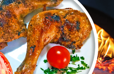 Easy Cooking Oven-Baked Chicken Legs in 9 Steps<span class=