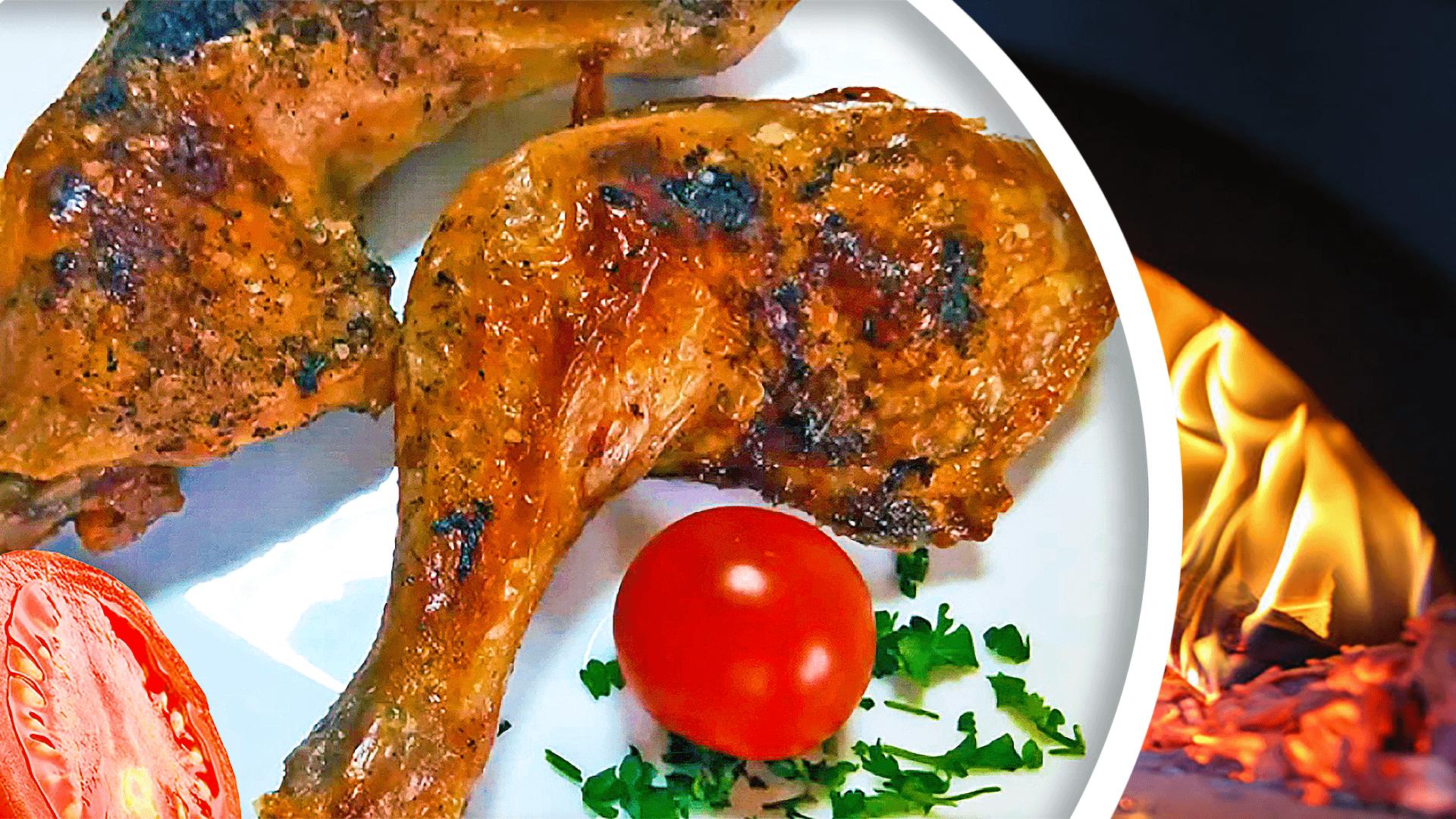 Basic Oven-Baked Chicken Legs