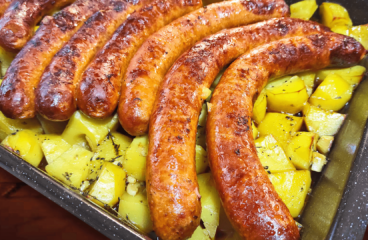 Cooking Italian Sausage and Potatoes | My Easy Sausage Links Video #261<span class=
