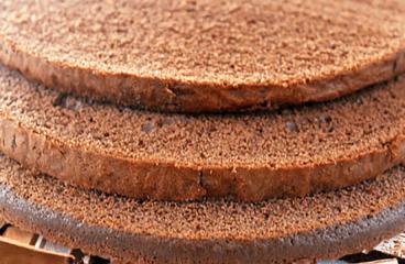 How to Make a Chocolate Sponge Cake | My Easy Sponge Cake Recipe with 6 Eggs #069<span class=