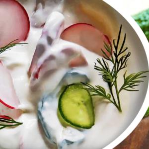 Creamy Cucumber Salad Recipe with Yogurt | My Easy Cucumber Salad Video #243