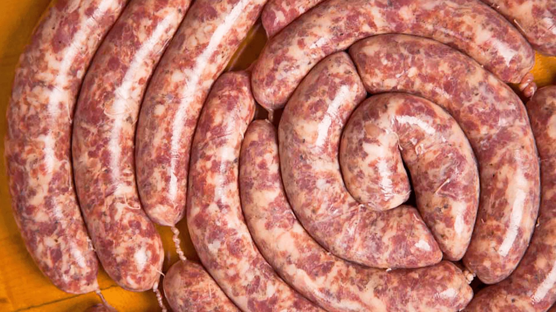 Raw Italian Sausage Links