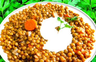 Easy Cooking Green Lentils (Basic Green Lentils Recipe in 10 Steps)<span class=