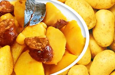 Easy Cooking Smoked Sausage & Potato Paprikash Recipe in 8 Steps<span class=