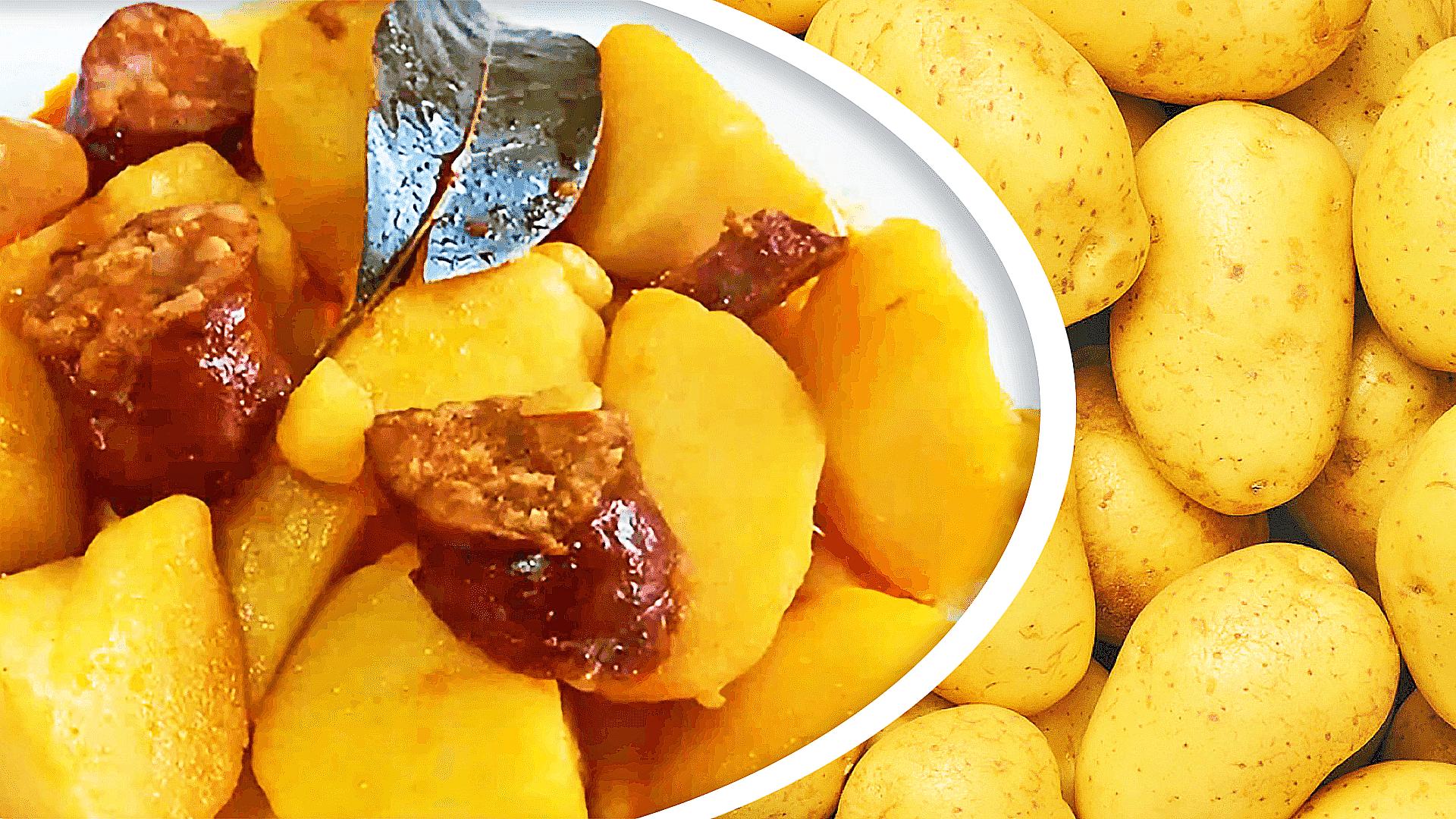 Smoked Sausage and Potato Paprikash