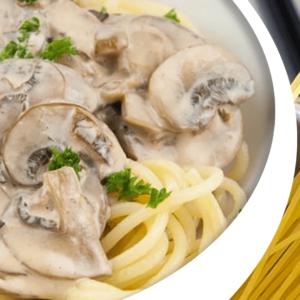 Easy Cooking Mushroom Pasta Recipe | My Cooking Pasta Video #169