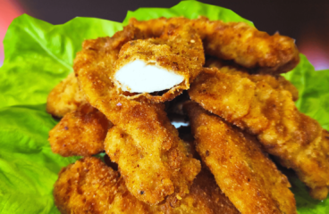 Homemade Chicken Strips Recipe | My Easy Chicken Fingers Video #213<span class=