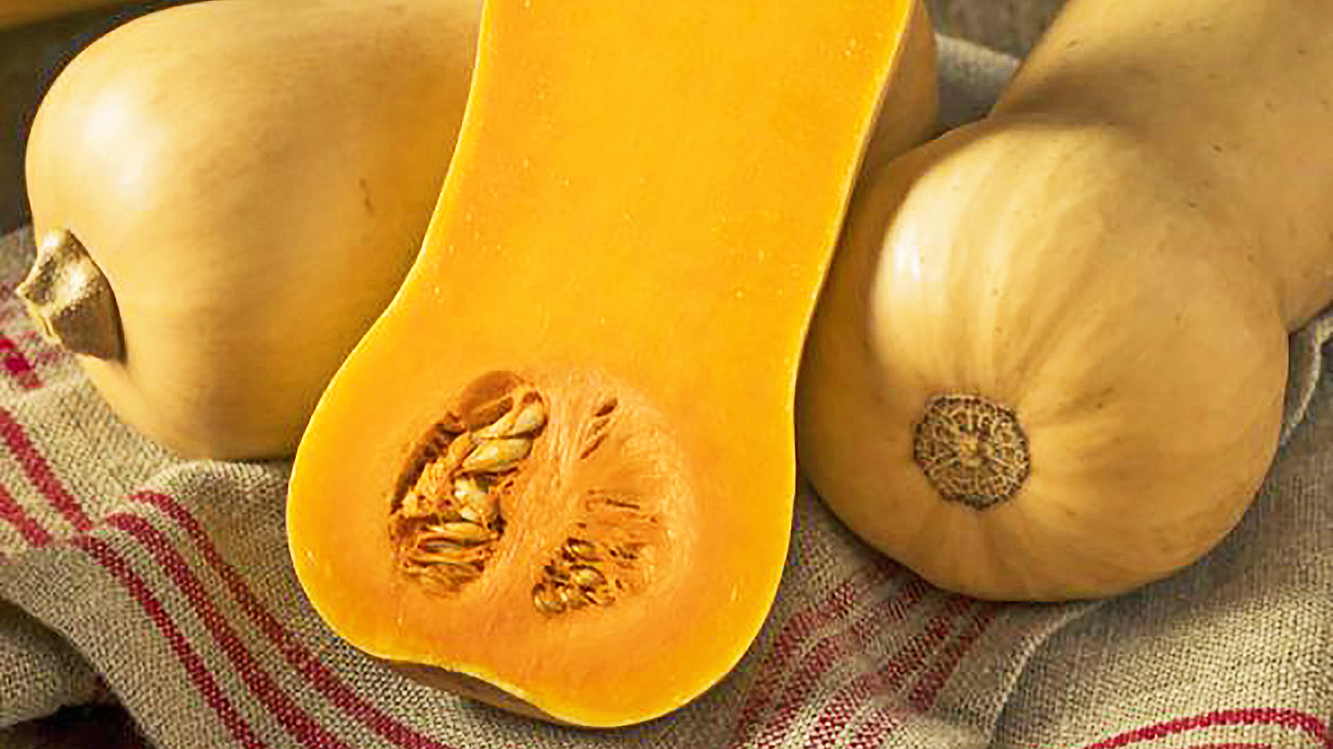 Raw Butternut Pumpkin
