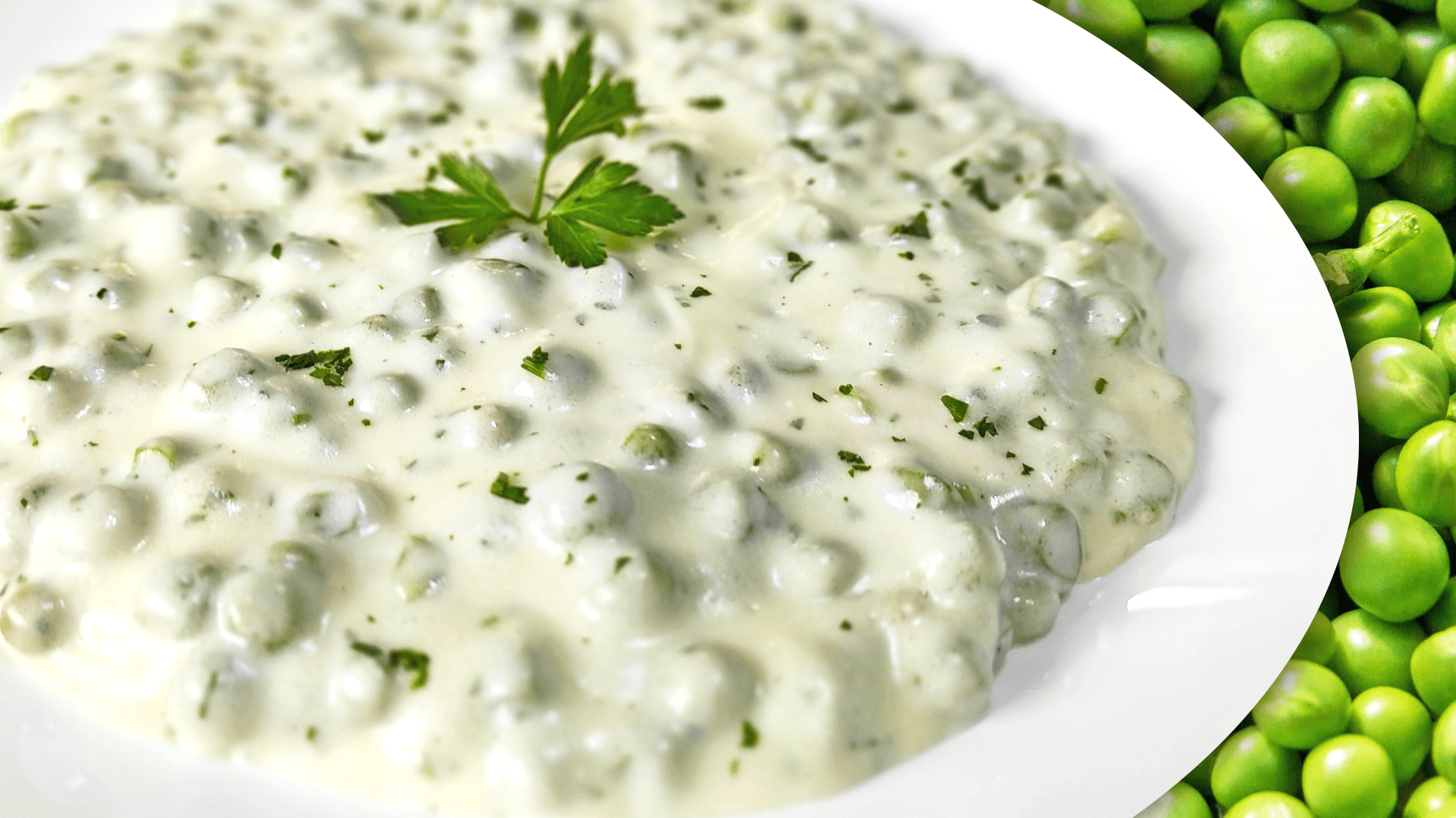 Easy Pea Recipe | Cooking Green Peas in Sour Cream Sauce